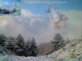 Flying Wolf Howling In Clouds (Volatility Research)