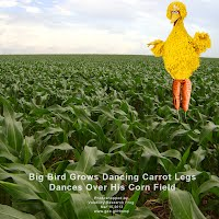 So God Made a Farmer — Big Bird Grows Dancing Carrot Legs Dances Over His Corn Field (Volatility Research) 1000w