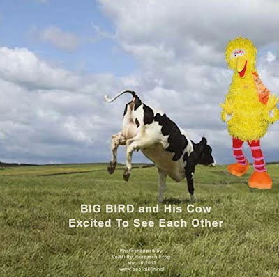 So God Made a Farmer — BIG BIRD and His Cow Excited To See Each Other (Volatility Research) 1000w