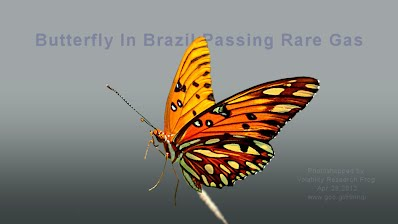 Butterfly In Brazil Passing Rare Gas (Volatility Research)