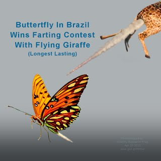 FARTING Contest #1 Won By Buttertfly In Brazil With Flying Giraffe - Longest Lasting (Volatility Research)