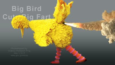 Big Bird Cuts Big Fart (Volatility Research) 1000w