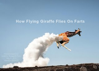 How Flying Giraffe Flies On Digestive Methane Gas - Passing Gas (Volatility Research) 1000