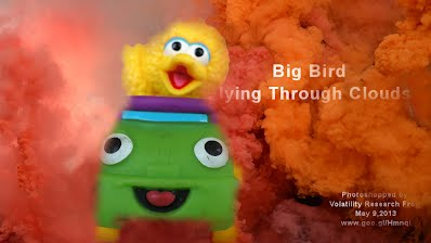 Big Bird Flying Through Clouds (Volatility Research) 1000w