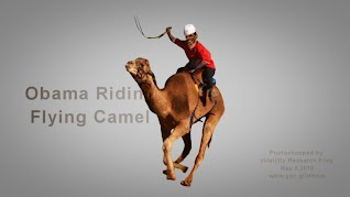 Obama Riding Flying Camel (Volatility Research) 1000w