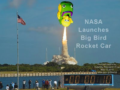 NASA Launches Big Bird Rocket Car (Volatility Research) 1000w