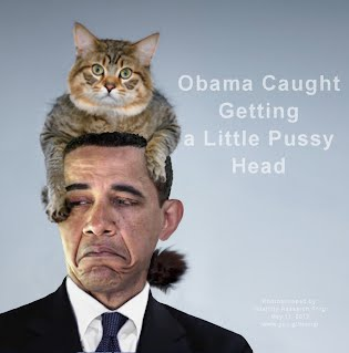 Obama Caught Getting a Little Pussy Head (Volatility Research) 1000w