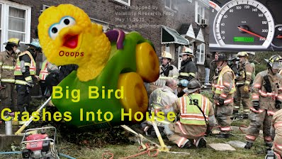 Big Bird Crashes Into House (Volatility Research) 1000w