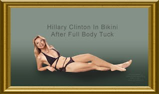 Hillary Clinton In Bikini After Full Body Tuck (Volatility Research) 1000h