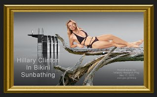 Hillary Clinton In Bikini Sunbathing (Volatility Research) 1000h