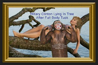 Hillary Clinton Naked In Tree #2 OF 2 (Volatility Research) 1296h2