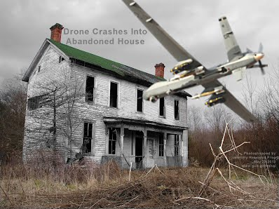 Drone Crashes Into Abandoned House (Volatility Research) 1000h