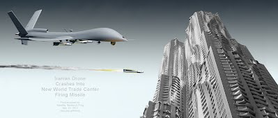 Iranian Drone Crashes Into New World Trade Center Firing Missile (Volatility Research) 1000h