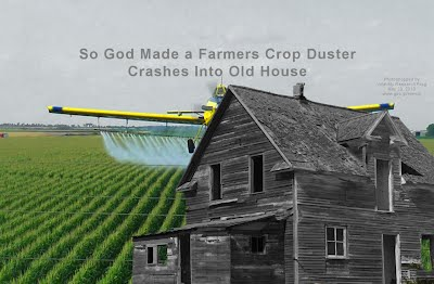 So God Made a Farmers Crop Duster Crashes Into Old House (Volatility Research) 1000h