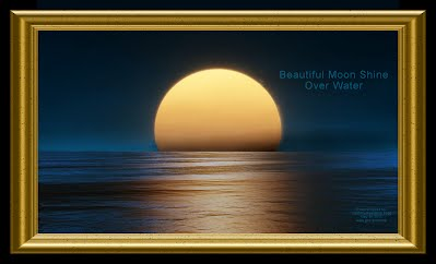 Beautiful Moon Shine Over Water (Volatility Research) 1000h