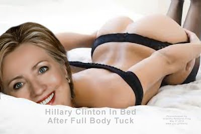 Hillary Clinton In Bed After Full Body Tuck (Volatility Research) 1000h