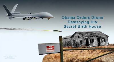 Obama Orders Drone Destroying His Secret Birth House (Volatility Research) 1000h