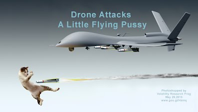 Drone Attacks A Little Flying Pussy (Volatility Research) 1000h