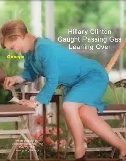 Hillary Clinton Caught Passing Gas Leaning Over (Volatility Research) 1000h