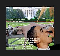 Obama Catches Hillary Clinton Passed Out Naked Passing Gas At White House Party Celebrating Full Body Tuck (Volatility Research) 1250w9 Obama