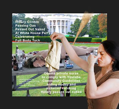 Obama Private Nurse Sickened Catching Hillary Clinton Passed Out (no clothes) (Volatility Research) 1250w10 Obama Nurse sickened