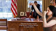 Obama Private Nurse Frightened Finding Mouse In Oval Office (Volatility Research) 1000h