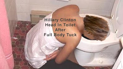 Hillary Clinton Head In Toilet After Full Body Tuck (Volatility Research) 1000h