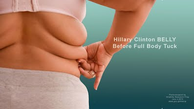 Hillary Clinton BELLY Before Full Body Tuck (Volatility Research) 1000h