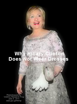 Why Hillary Clinton Does Not Wear Dresses (Volatility Research) 1000h6