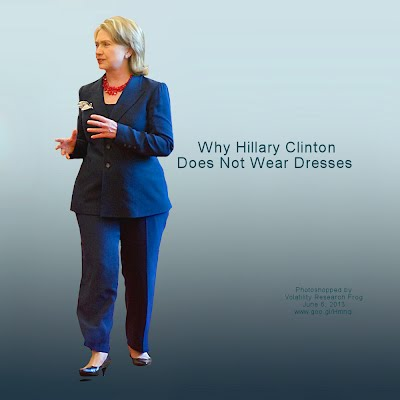 Why Hillary Clinton Does Not Wear Dresses (Volatility Research) 1000h7