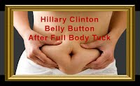 Hillary Clinton Belly Button After Full Body Tuck (Volatility Research) 1000h2