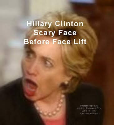 Hillary Clinton Scary Face Before Face Lift (Volatility Research) 1000h4