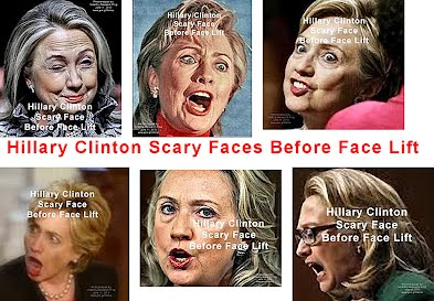 Hillary Clinton Scary Face Before Faces Lift (Volatility Research) 612h1 to 6