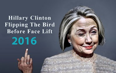 Hillary Clinton Caught FLIPPING the BIRD Before Face Lift (Volatility Research) 1000h3