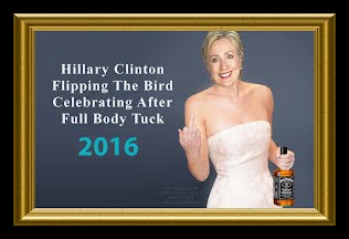 Hillary Clinton Caught FLIPPING the BIRD Celebrating After Full Body Tuck (Volatility Research) 1000h6