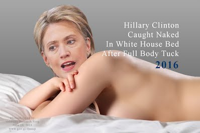 Hillary Clinton Caught Naked In White House Bed After Full Body Tuck (Volatility Research) 1000h11