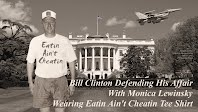 Eatin Ain't Cheatin Says Bill Clinton Tee Shirt Defending His Affair With Monica Lewinsky (Volatility Research) 1000h27