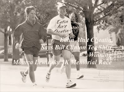 Eatin Aint Cheatin Says Bill Clinton Tee Shirt Winning Monica Lewinsky 5K Memorial Race (Volatility Research) 1000h29.jpg