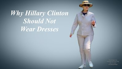 Why Hillary Clinton Should Not Wear Dresses Before Full Body Tuck (Volatility Research) 1000h37