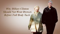 Why Hillary Clinton Should Not Wear Dresses Before Full Body Tuck (Volatility Research) 1000h41