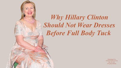 Why Hillary Clinton Should Not Wear Dresses Before Full Body Tuck (Volatility Research) 1000h42