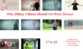 Why Hillary Clinton Should Not Wear Dresses (Volatility Research) 17 to 26