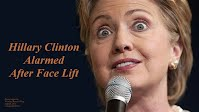 Hillary Clinton Alarmed After Face Lift (Volatility Research) 1000h43