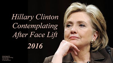 Hillary Clinton Contemplating After Face Lift (Volatility Research) 1000h44