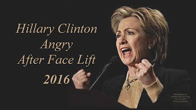 Hillary Clinton Angry After Face Lift (Volatility Research) 1000h46