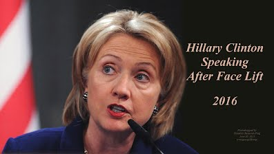 Hillary Clinton Speaking After Face Lift (Volatility Research) 1000h48