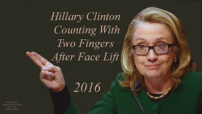 Hillary Clinton Counting With Two Fingers After Face Lift (Volatility Research) 1000h51