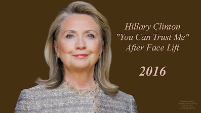 Hillary Clinton You Can Trust Me After Face Lift (Volatility Research) 1000h55