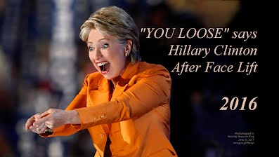 YOU LOSE Says Hillary Clinton After Face Lift (Volatility Research) 1000h57