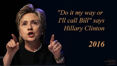 Do it my way or I will call Bill says Hillary Clinton (Volatility Research) 1000h60